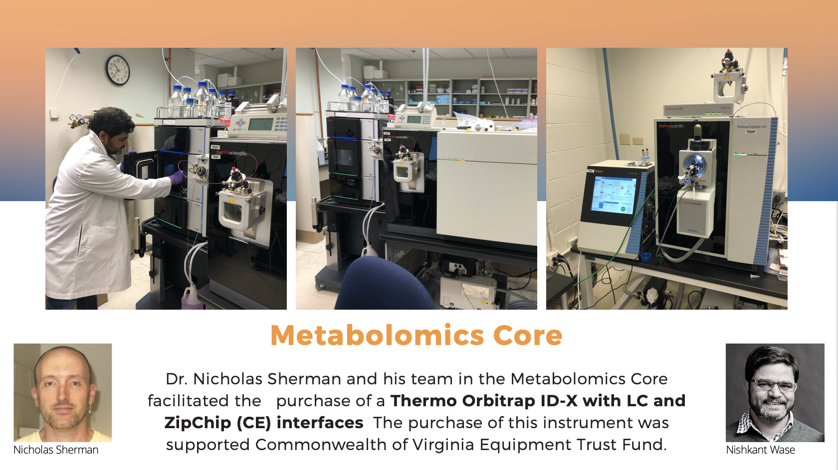 Metabolomics Core Information